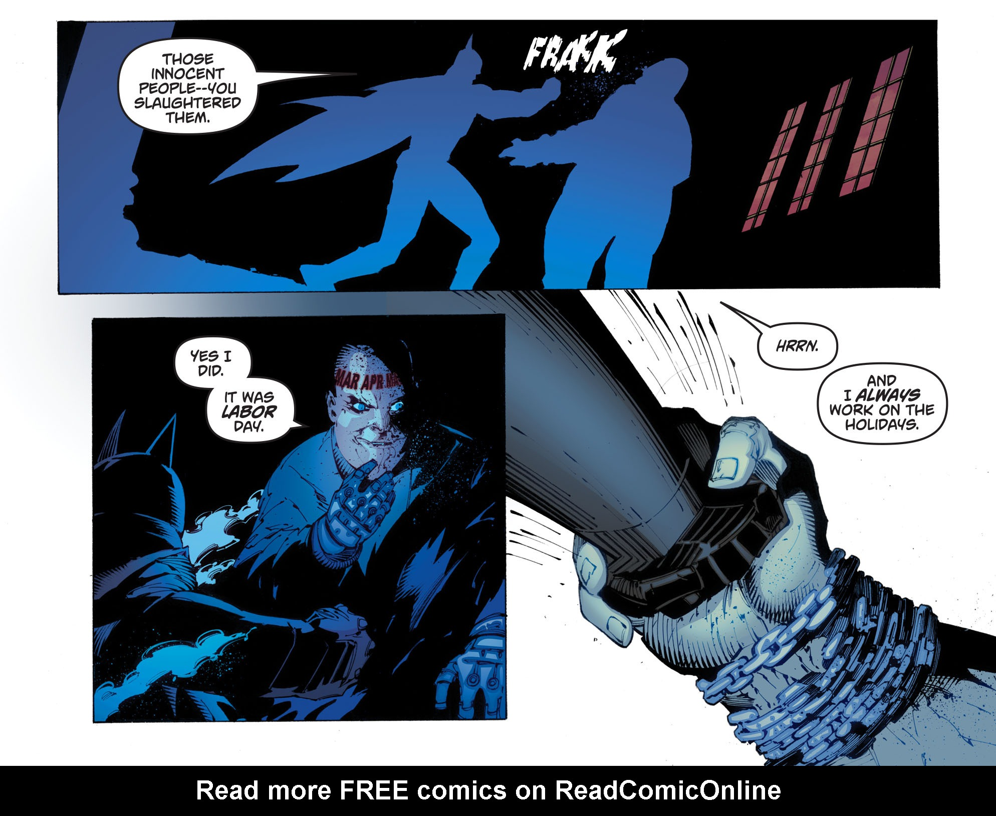 Batman: Arkham Knight [I] Issue #29 #31 - English 20