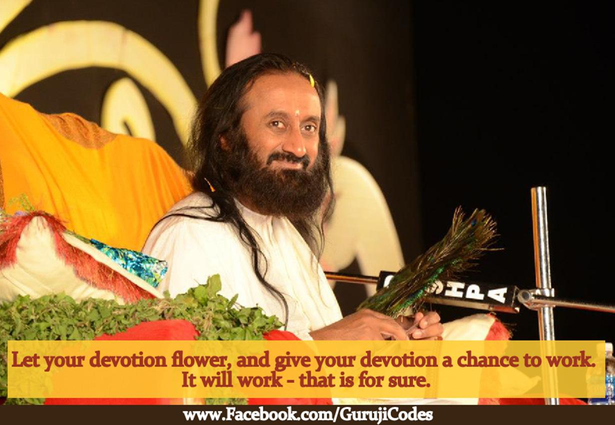Devotion Works | Guruji Codes