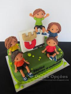 bolo festa férias desportivas