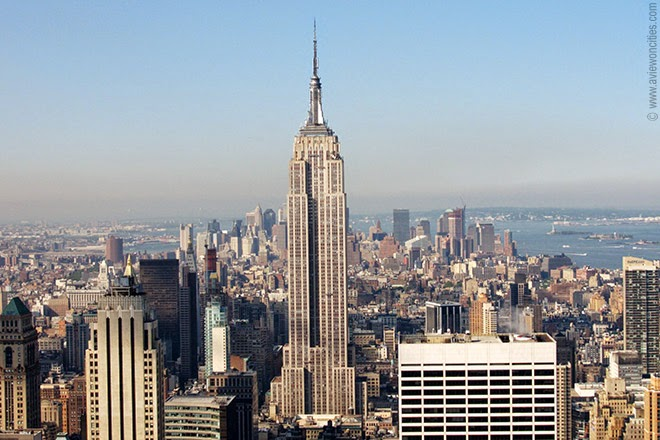 architecture nest structure system of empire state building