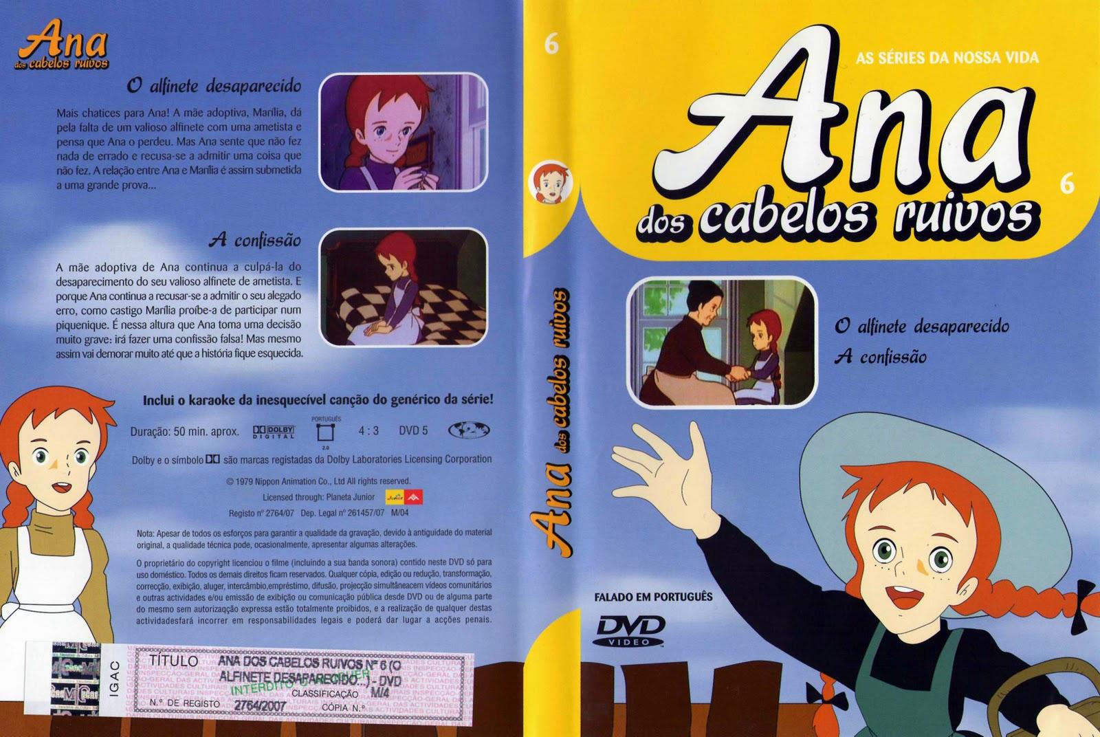 Ana dos Cabelos Ruivos Vol.1 A 25  PT-PT Ana+dos+Cabelos+Ruivos+Vol.6-capa