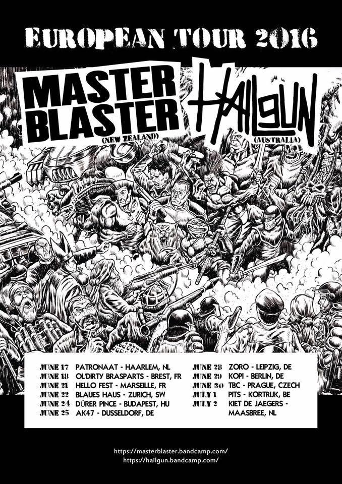 Master Blaster Euro Tour