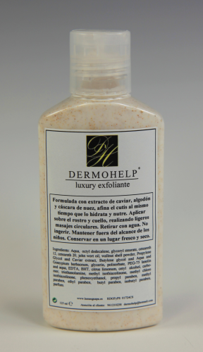Luxury exfoliante Dermohelp
