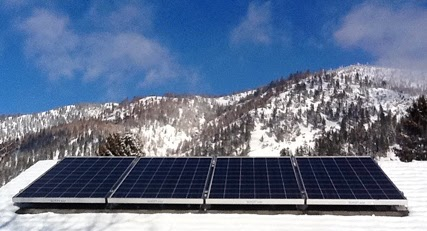 planning to install a photovoltaic system (solar panels)