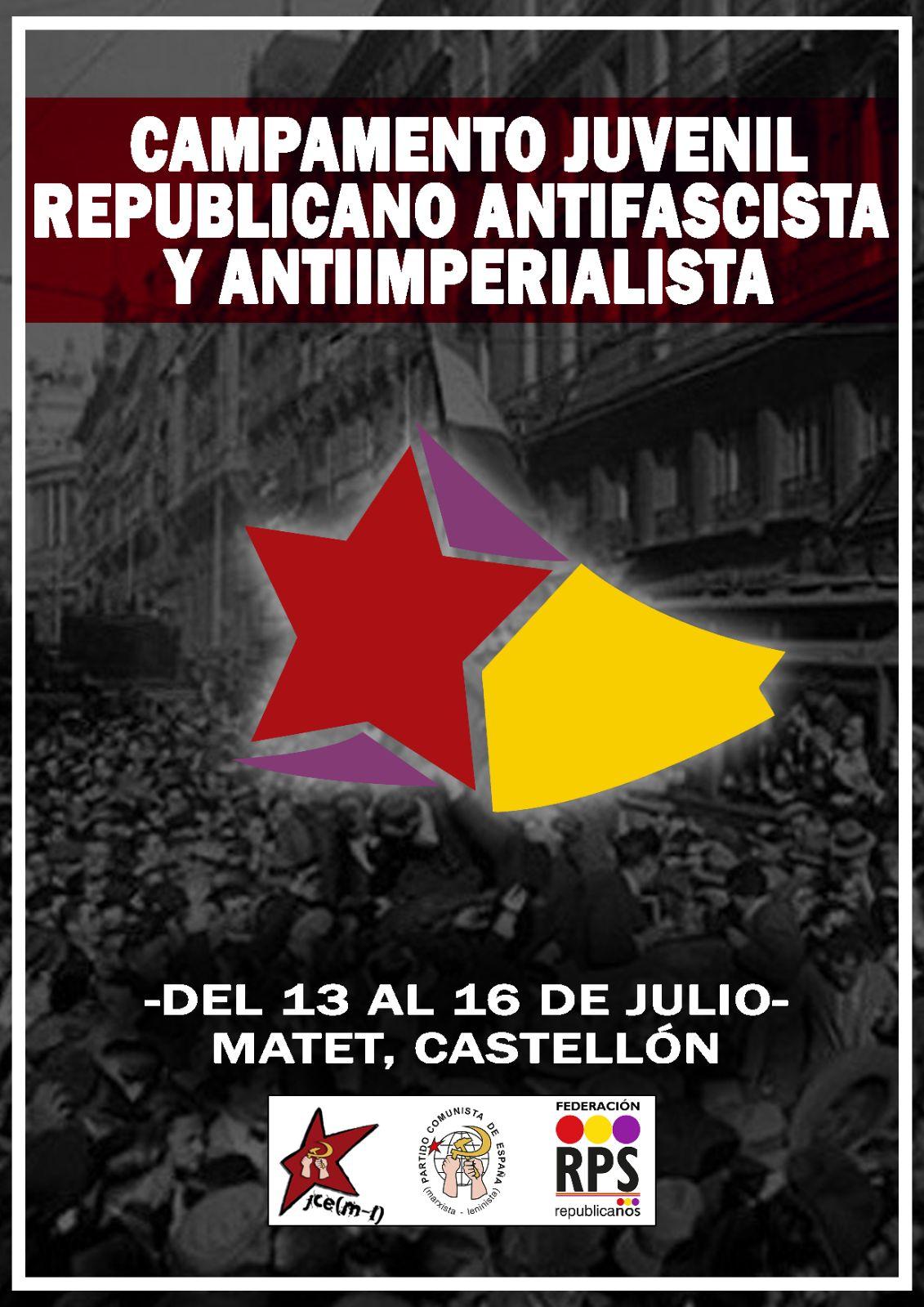 CAMPAMENTO JUVENIL REPUBLICANO Y ANTIIMPERIALISTA