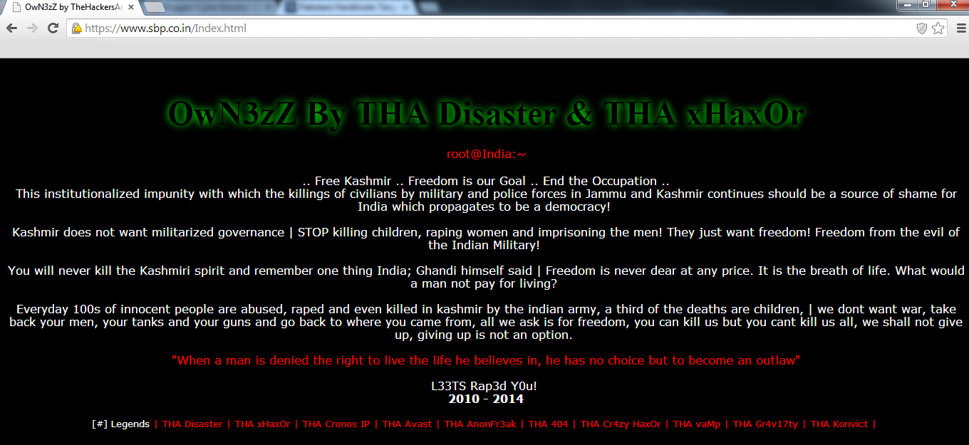More Indian Government site hacked by Pakistani hacker, Indian government hacked, hacking high profiled sites, free hacking material, opkashmir, operation of Pakistani hacker, THA hackers news, pakistani hacker, hacked by team Maximizer, hacked by THA hackers,