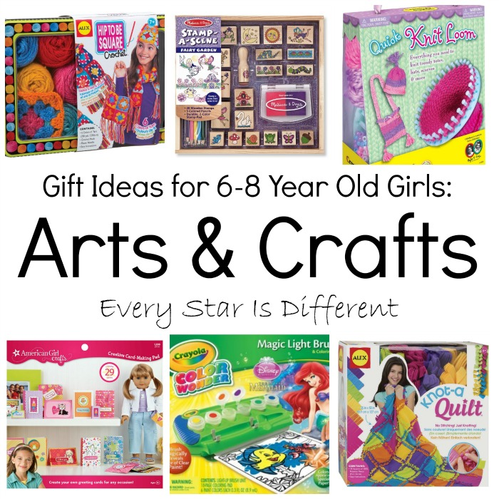 Gift ideas for 6 8 year old girls every star is different for Arts and crafts for 10 year old girls