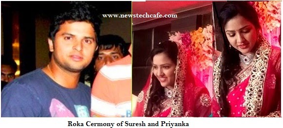 Cricketer Suresh Raina Getting Married To Priyanka Chaudhary on April,3rd,2015