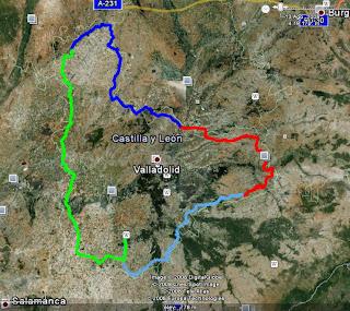 Vuelta a la provincia de Valladolid en BTT