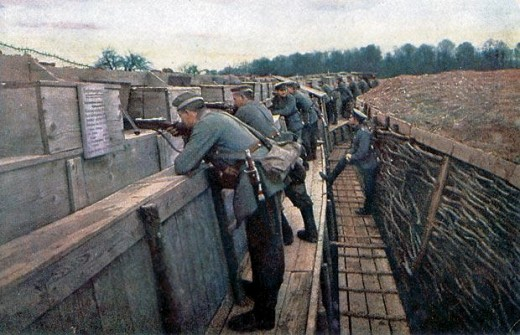 Rare Color Photographs Of German Front In World War I | Gold is ...