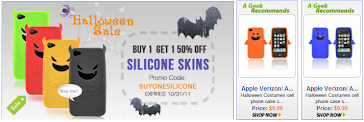 Take advantage of this Halloween Sale atGeek Accessory