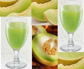 Cara sehat membuat jus melon
