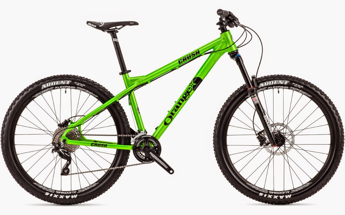 All-Mountain Hardtail Bikes, Bike News, New Bike, Report, orange crush am, orange crush hardtail, orange crush am 2015
