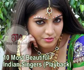 Top 10 Most Beautiful Indian Singers (Playback)