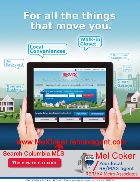 Columbia MLS Search