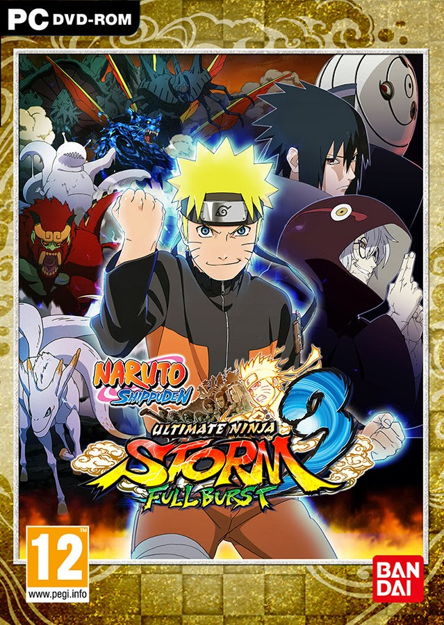 Naruto Shippuden Ultimate Ninja Storm 3 Full Burst PC Game  (Single Link)