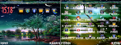 FREE Download Themes Nokia Symbian E63, E71, N8 Series Night Sanset