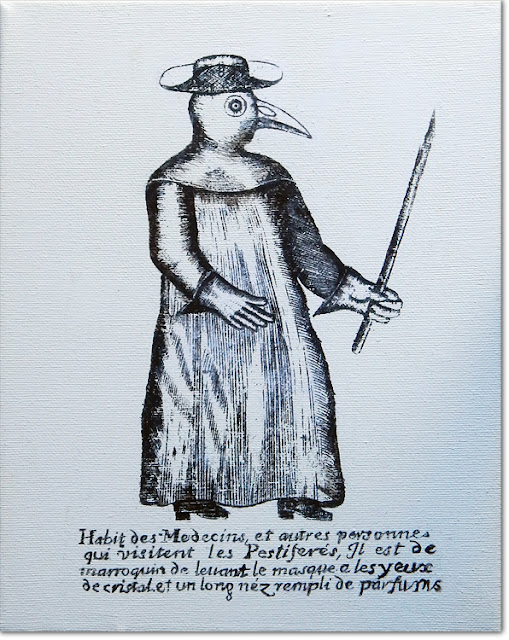 Bird doctor from paintwalk a plague doctor from 1690