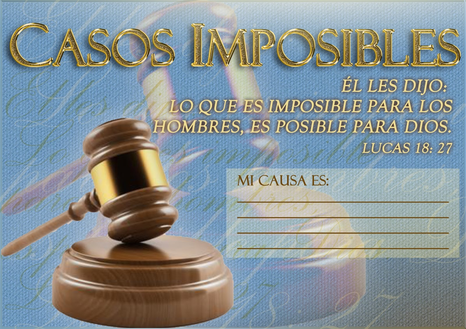 casos imposibles MARTILLO | Iurd Evangelizacion