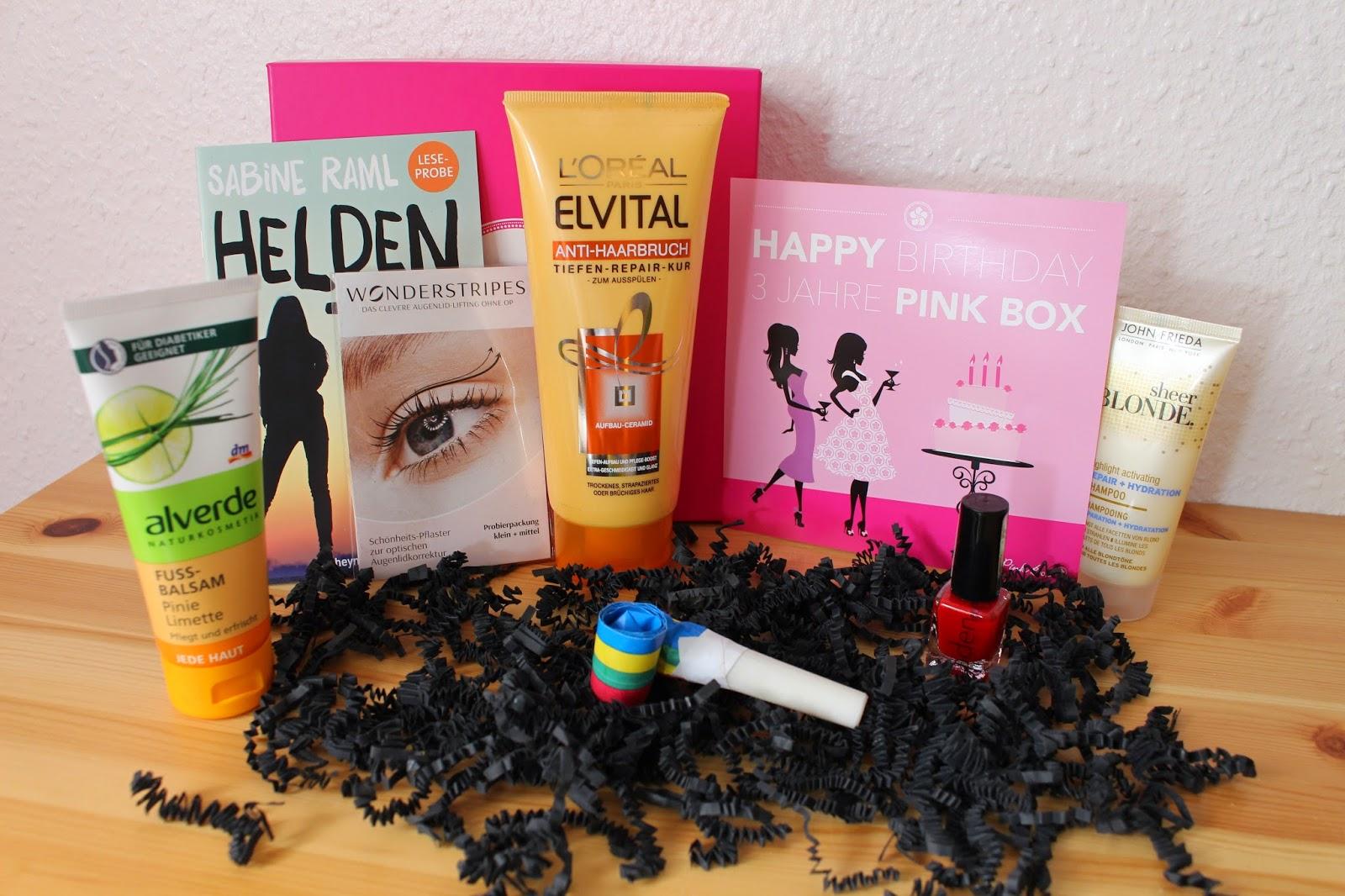 Pink Box April 2015