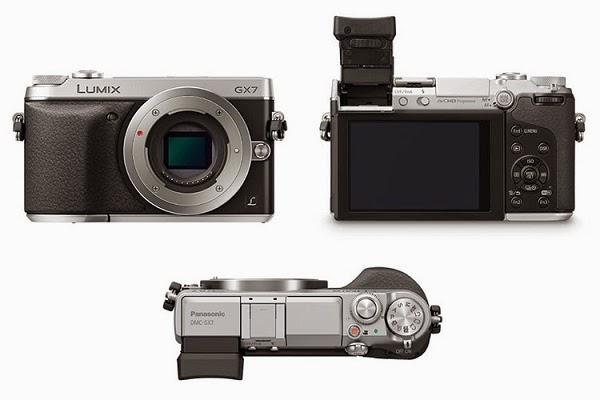 La Panasonic GX7 fotografata da diversi punti di vista