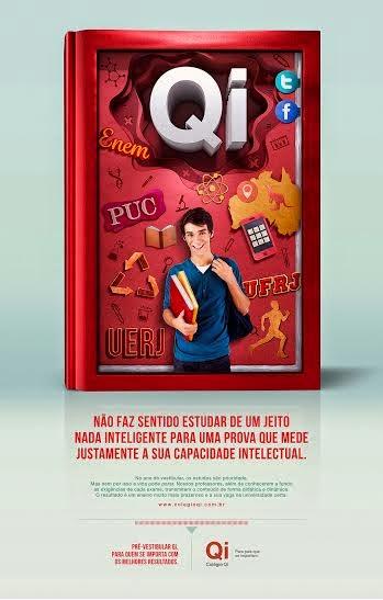 Kindle lança primeira campanha para Colégio Qi