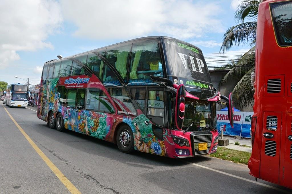 Promthep Cape Phuket bus