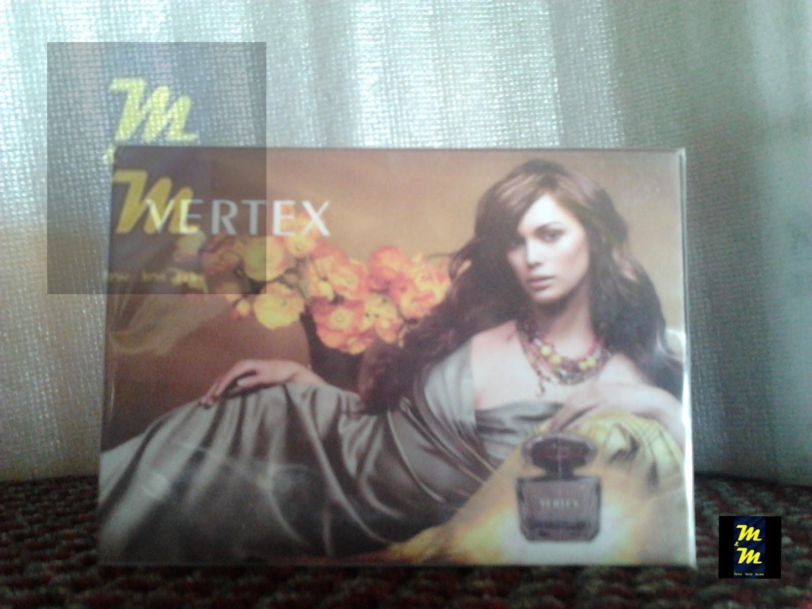perfume vertex 100ml