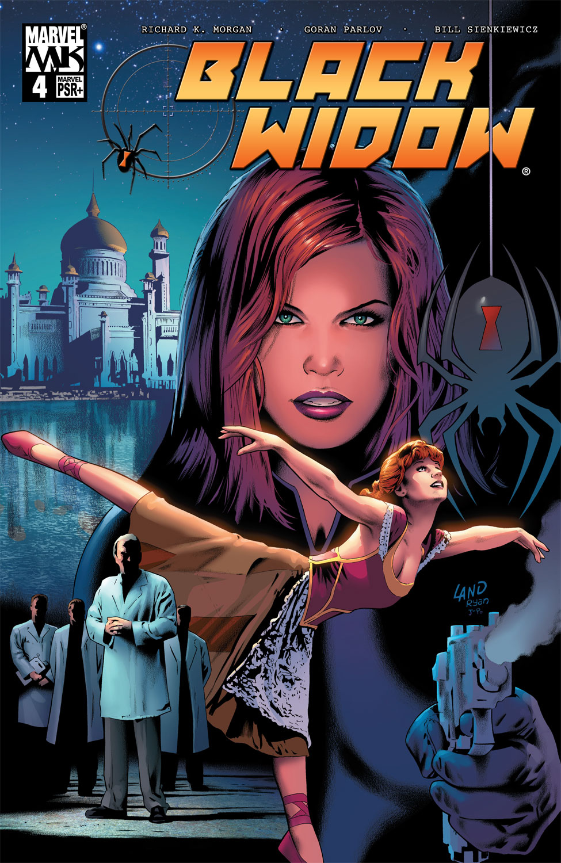 Black Widow (2004) 4 Page 1