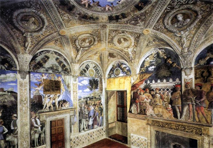 Italia fotos e historias by patzy mantua una reina for Camera degli sposi a mantova