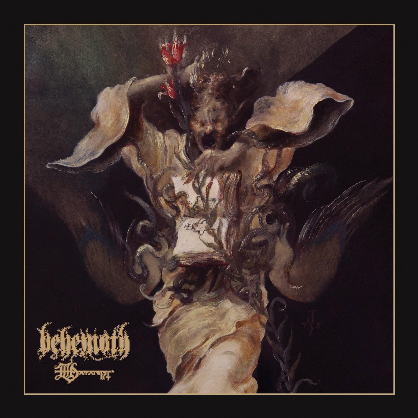 Arte de The Satanist el nuevo álbum de Behemoth