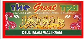 Lowongan Kerja The Great TPA Dzul Jalali Walikram