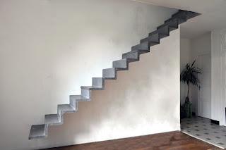 Escalier line - Escalier milieu de piece ...