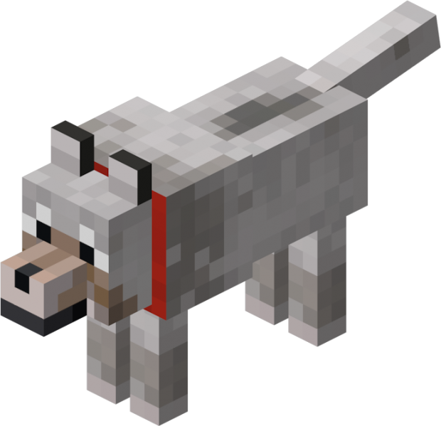 Transparent Pixel White Wolf Modern Home Design And