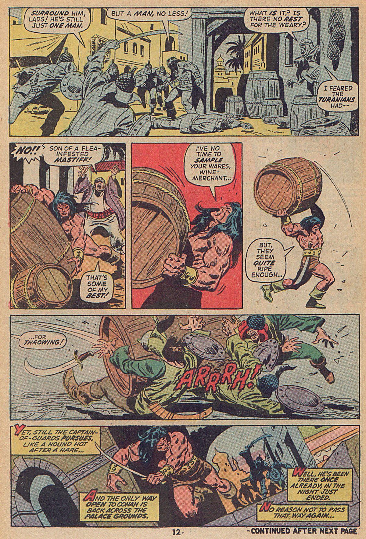 Conan the Barbarian (1970) Issue #25 #37 - English 10