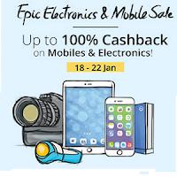 (Live) PayTm : Mobiles & Electronics Upto 100% Cashback:  BuyToEarn