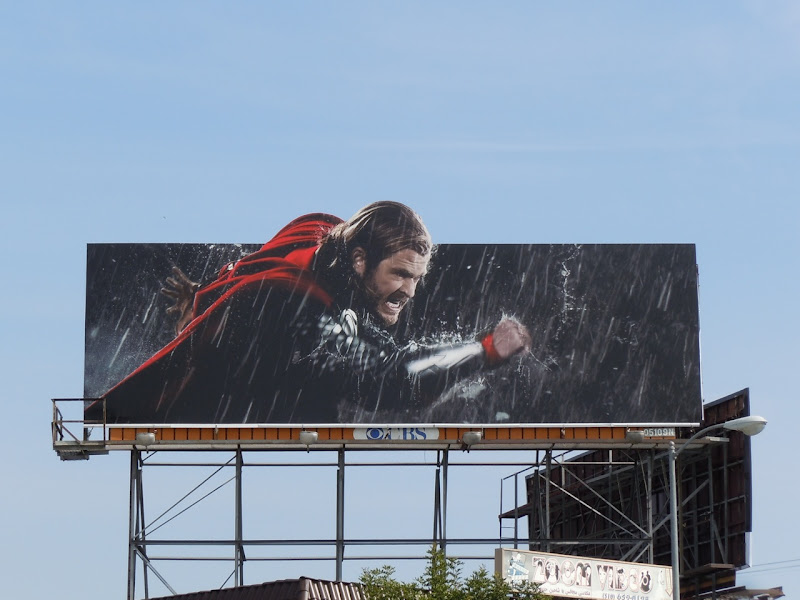 Thor Chris Hemsworth billboard