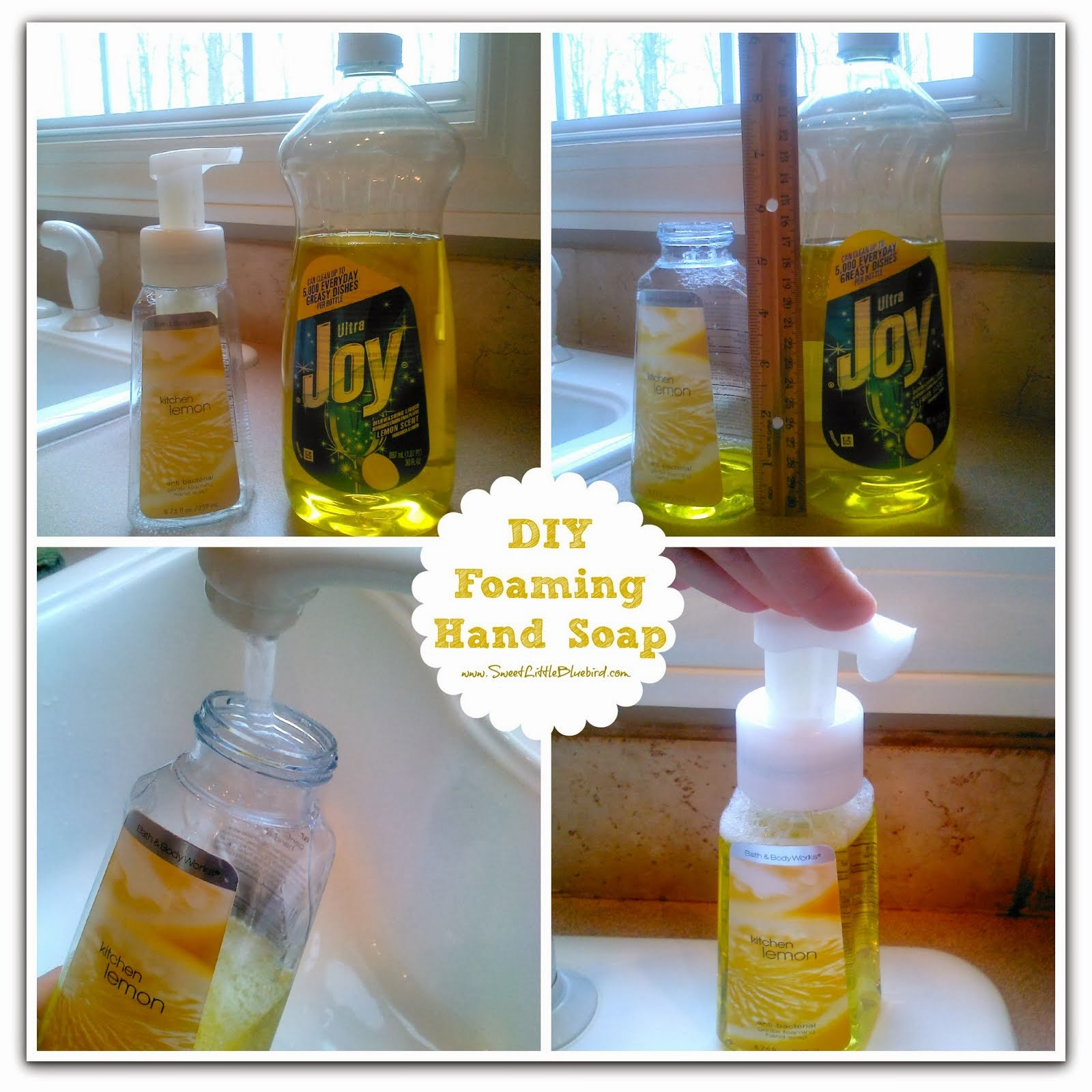 DIY FOAMING HAND SOAP!  #1 DIY TIP On Site - So simple to make!