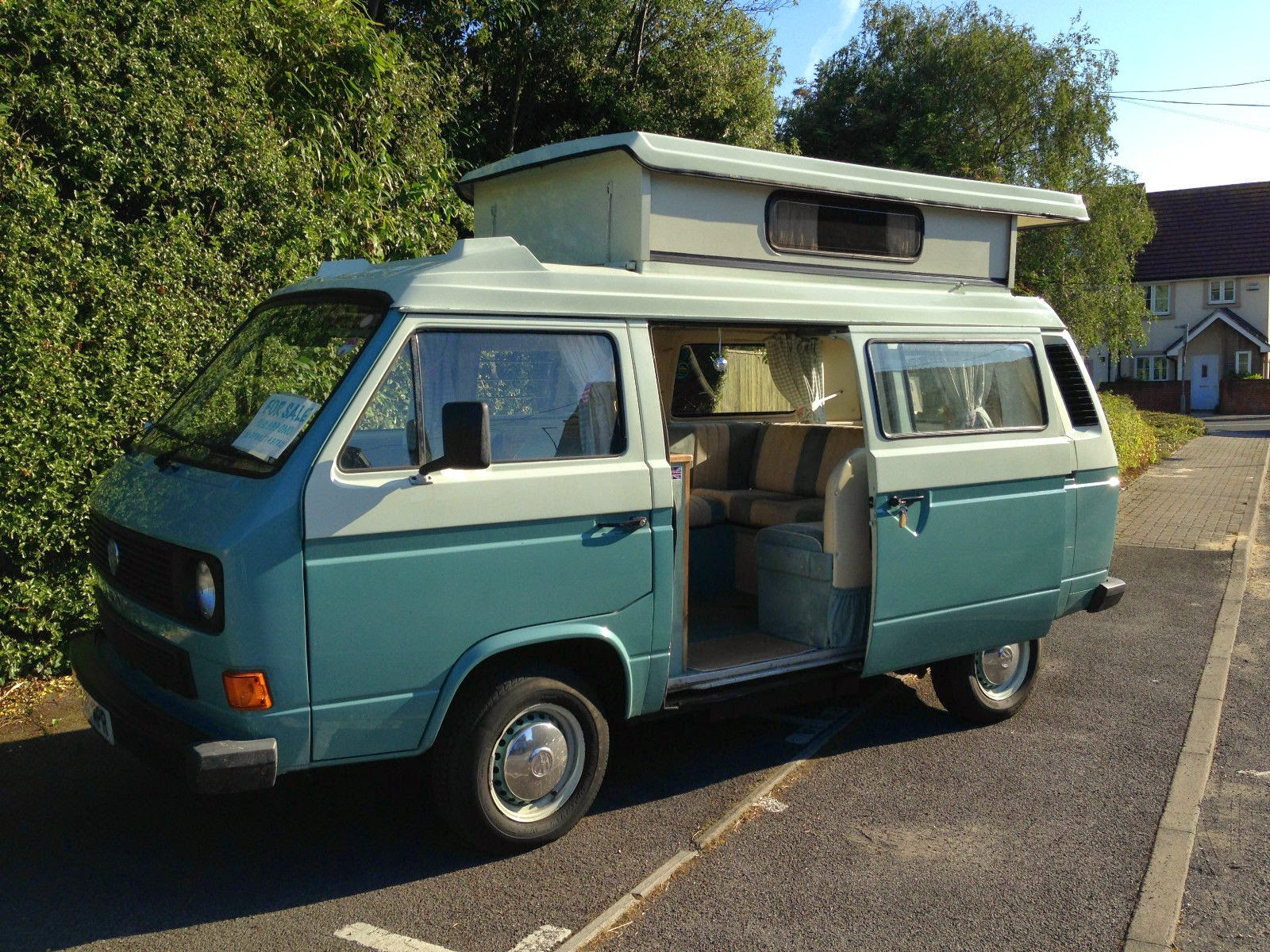 A 4 Berth With Pop Top Roof She Also Comes Full Drive Away Awning Which Is Brilliant