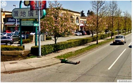 Gambar Aneh Dan Pelik Yang Di Rakam Google Street View