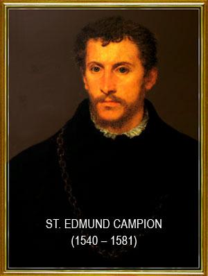 Commosion religiosa en el Pilar de Zaragoza Saint-edmund-campion
