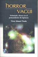Víctor Manuel Pineda: Horror vacui. Voluntad y deseo en el pensamiento de Spinoza (2010)