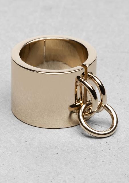 metal cuff ring