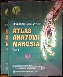 Buku Atlas Anatomi Manusia Spalteholz Jilid 1 & 2 Edisi 16