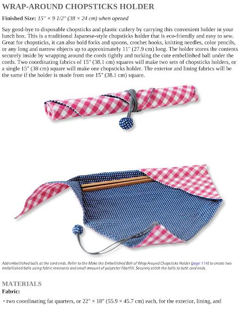 Wrap-Around Chopsticks Holder