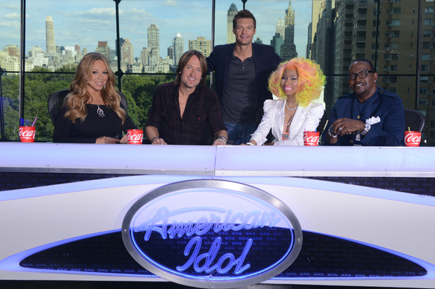 American Idol' judges Mariah Carey, Nicki Minaj, Keith Urban - first photo