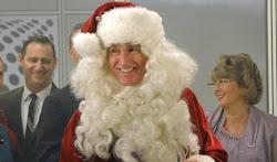 Roger as Santa