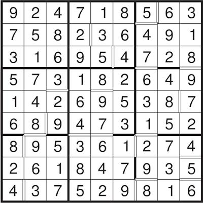Consecutive Sudoku (Fun With Sudoku #86) Solution
