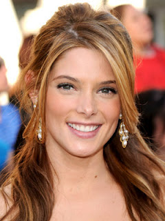 ashley greene half up half down prom hairstyles