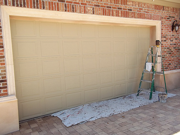 July 2013 everything i create paint garage doors to for Garage doors look like wood